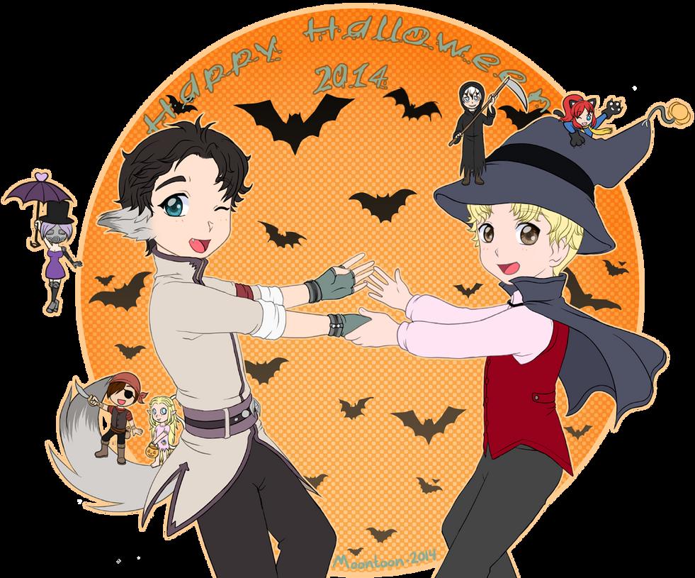 Happy Halloween 2014 by Moontoon