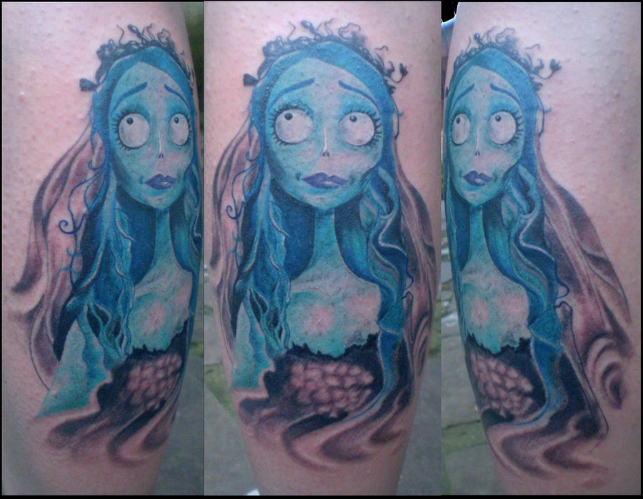 corpse bride tattoo by chicotattoocanoas on deviantart. Black Bedroom Furniture Sets. Home Design Ideas