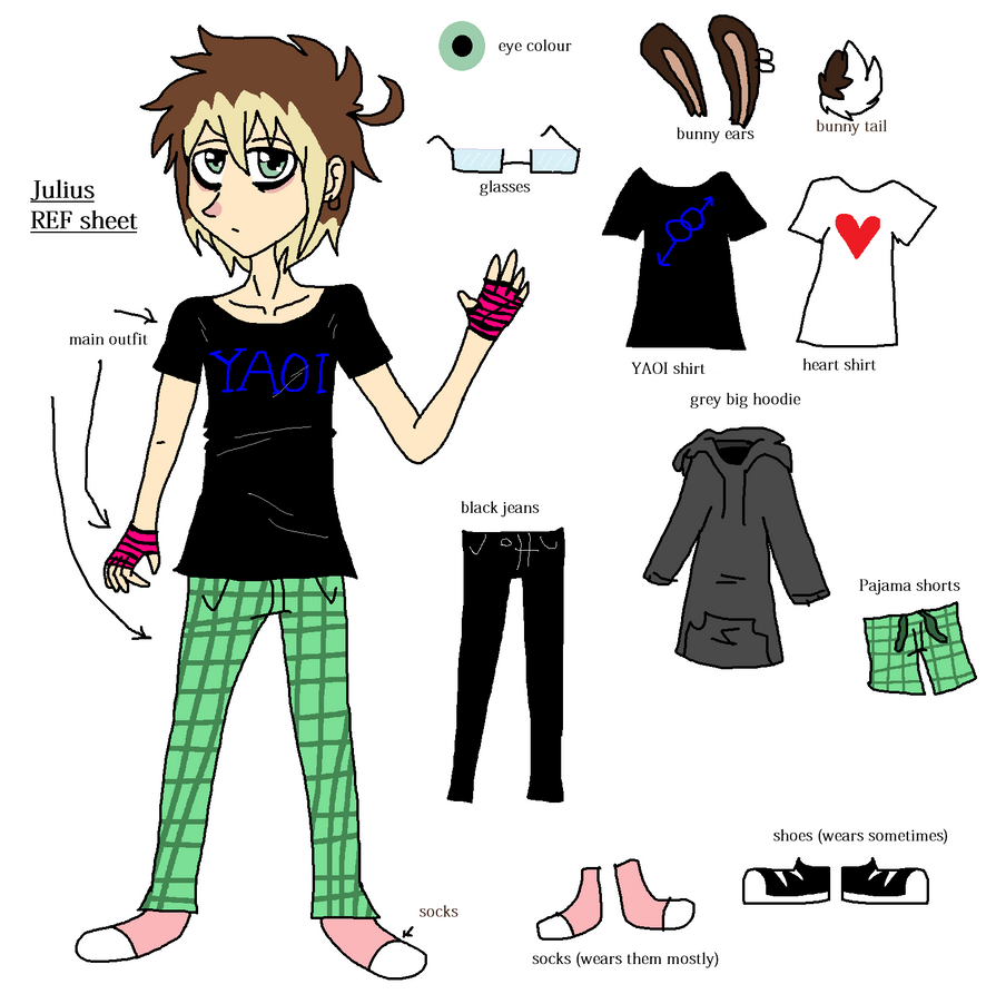 |  Julius REF sheet  |[me boyself] by WaffIo