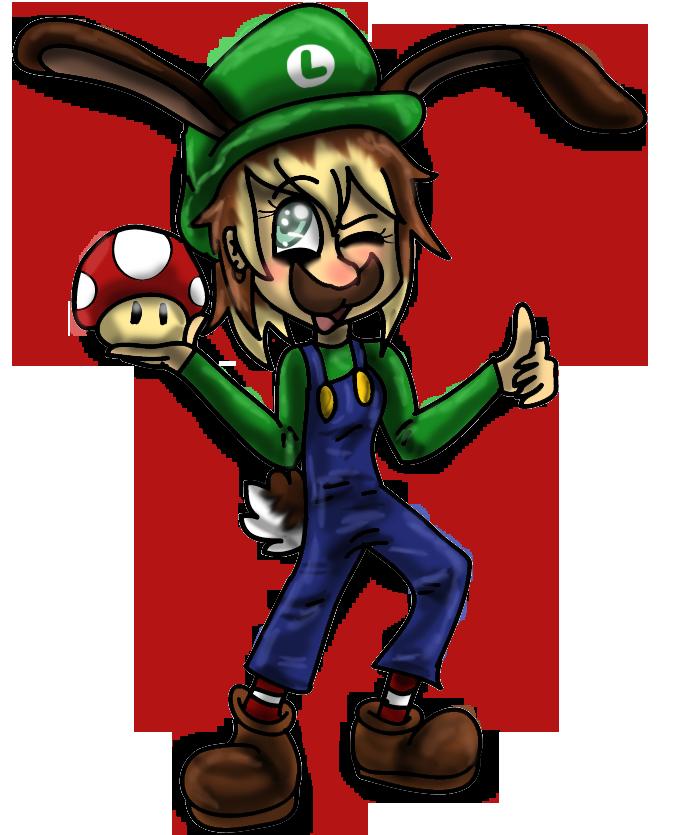| Luigi time | by WaffIo