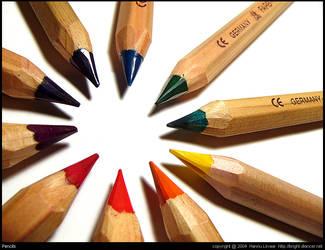 pencils by bright