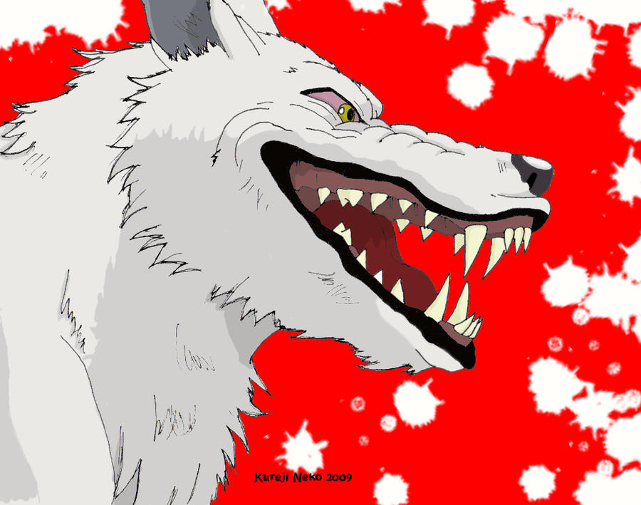 Moro Laughing At Humanity By Kureji Neko On Deviantart