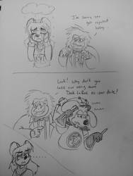Prom Date Troubles by DorkyDarkwing