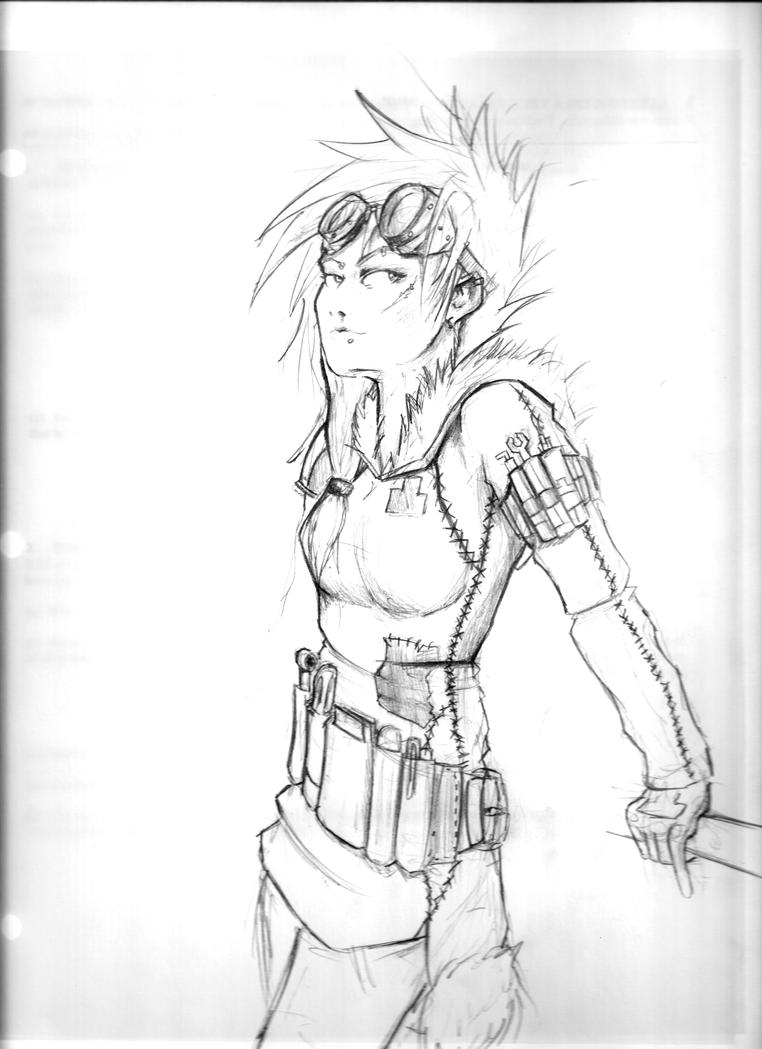 More from the sketchy: Armelle by RememberTherefore