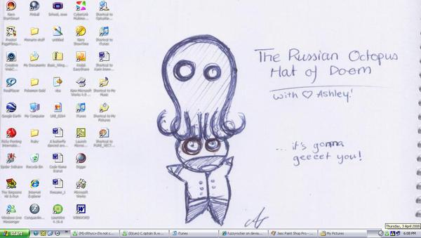 my latest desktop by fuzzyrocker