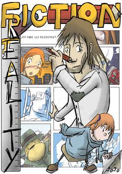 Reality Fiction Cover Art