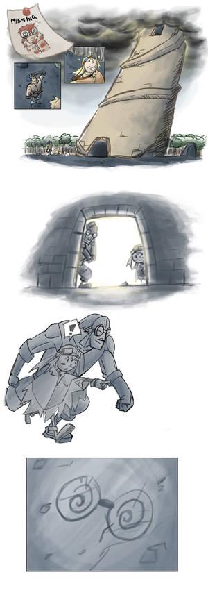 PMD Guardians Job: Find Spinda in Ascension Tower