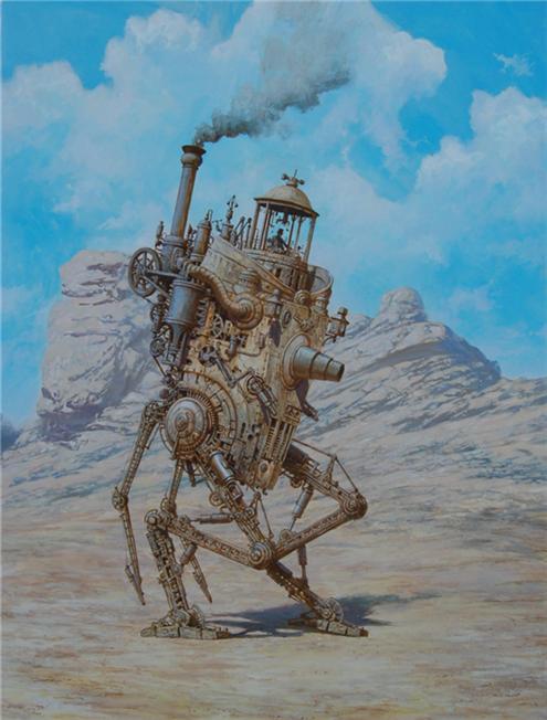 Die Dampfstreife by voitv
