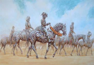 Steel horsemen by voitv