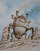 Steamspider by voitv