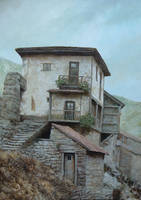 The house in mountains by voitv