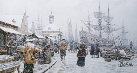 The Dutch port