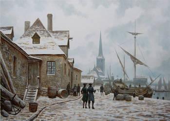 Reval, Hafen by voitv