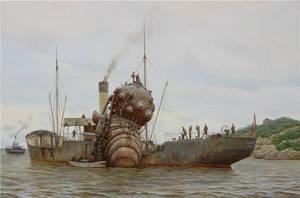 Sea soldier