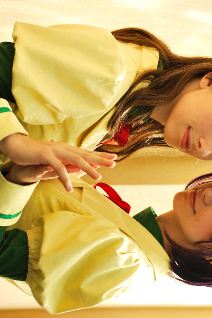 Maron and Miyako by Rayi-kun
