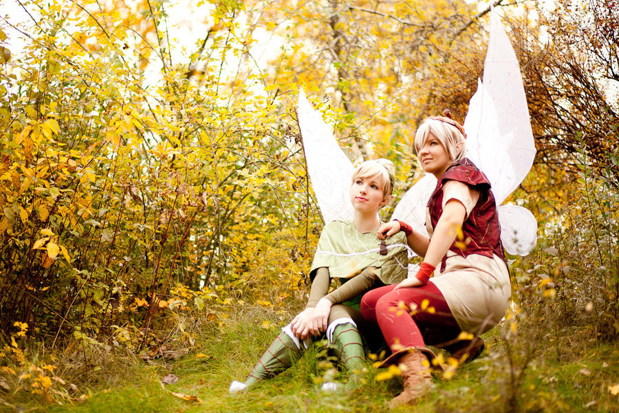 Tinkerbell and Terence by Rayi-kunTinkerbell And Terence