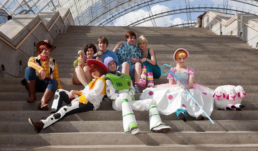 Toy Story Group by Rayi-kun