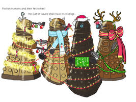 Daleks don't do Christmas... by wild-filly