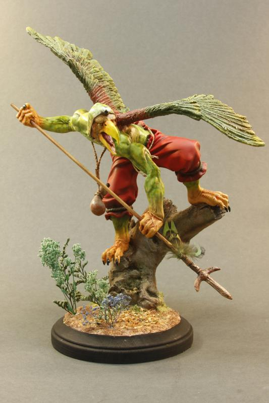 Karasu Tengu Kit Painted by AliasGhost