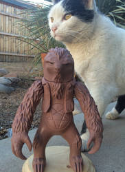 Metal Sloth arttoy in clay form by AliasGhost