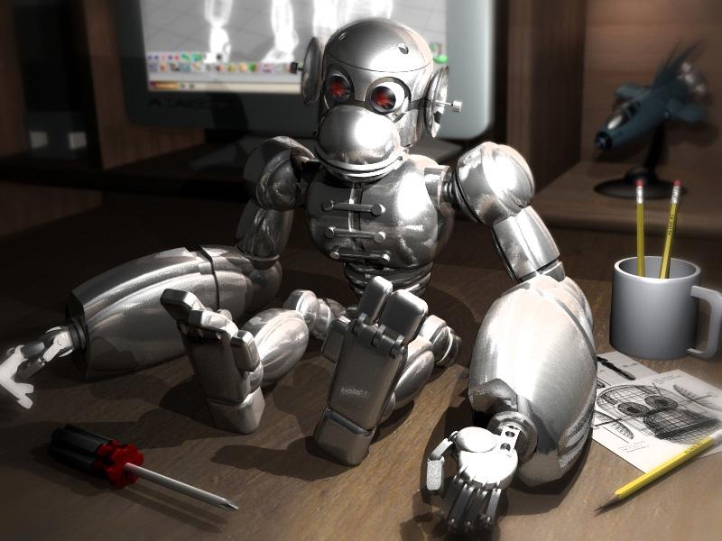 Kung Fu Monkey Robot