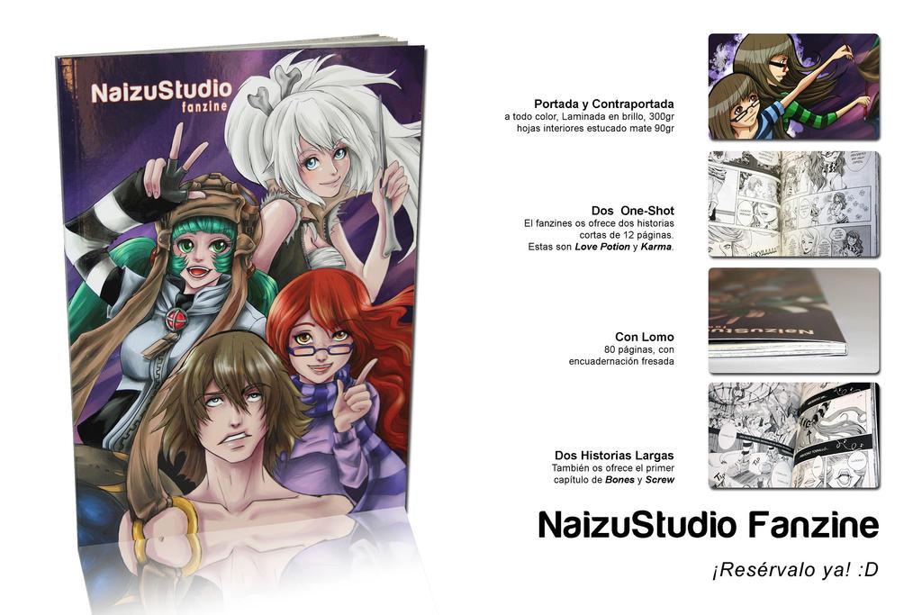 Promo NaizuStudio Fanzine by minigatsuga-chan
