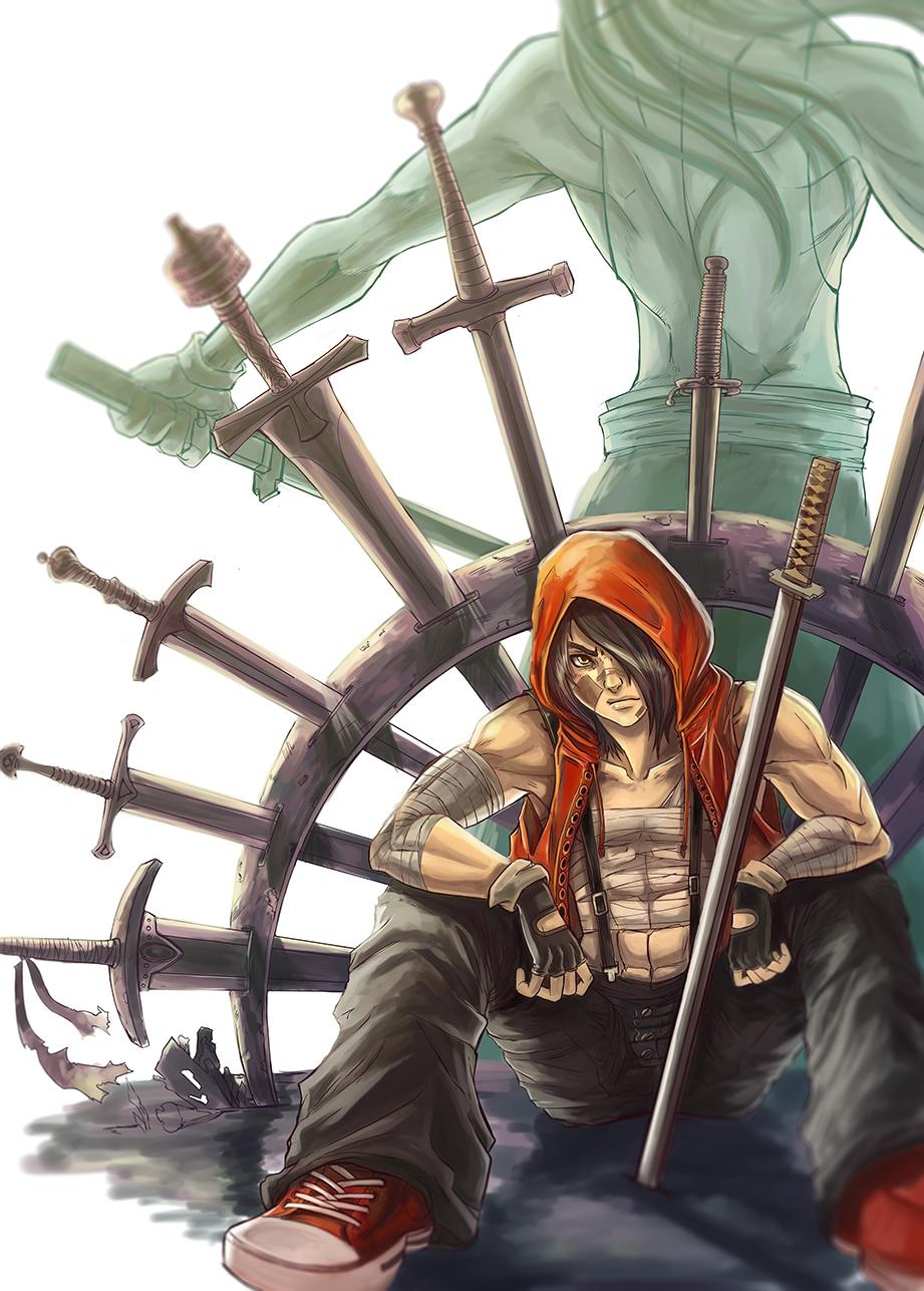 Bloody Battle Cap 02 by minigatsuga-chan