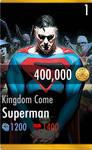 Kingdom Come Superman Injustice Mobile Card