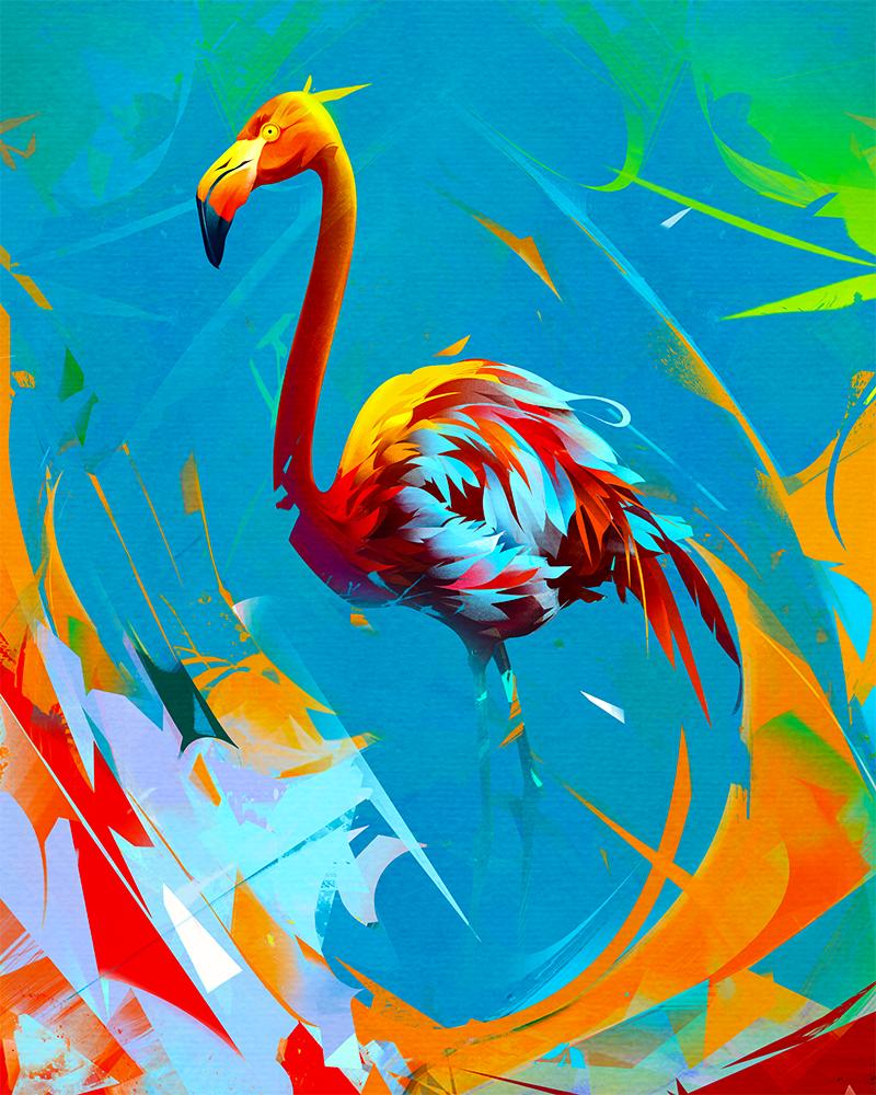 flamingo by KHIUS