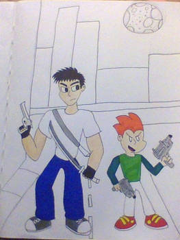 Pico and Xavier