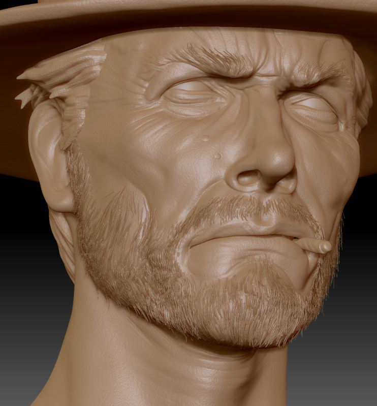 Clint E. Zbrush Update 4 by FoxHound1984
