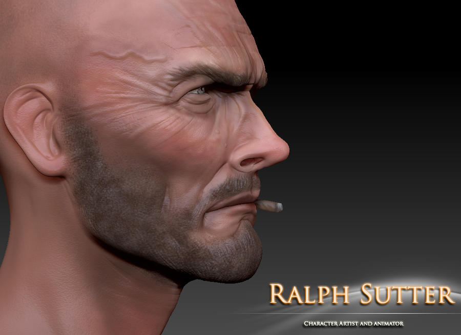 Clint 3D Model Color Test 6 by FoxHound1984