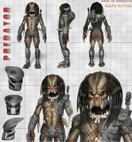 The Predator - 3D Model Update 3 by FoxHound1984