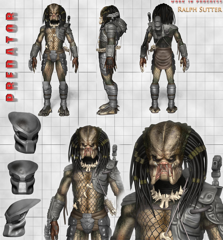 The Predator - 3D Model Update 3 by FoxHound1984