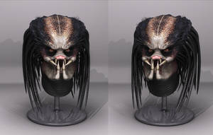 Predator - Headsculpt Render