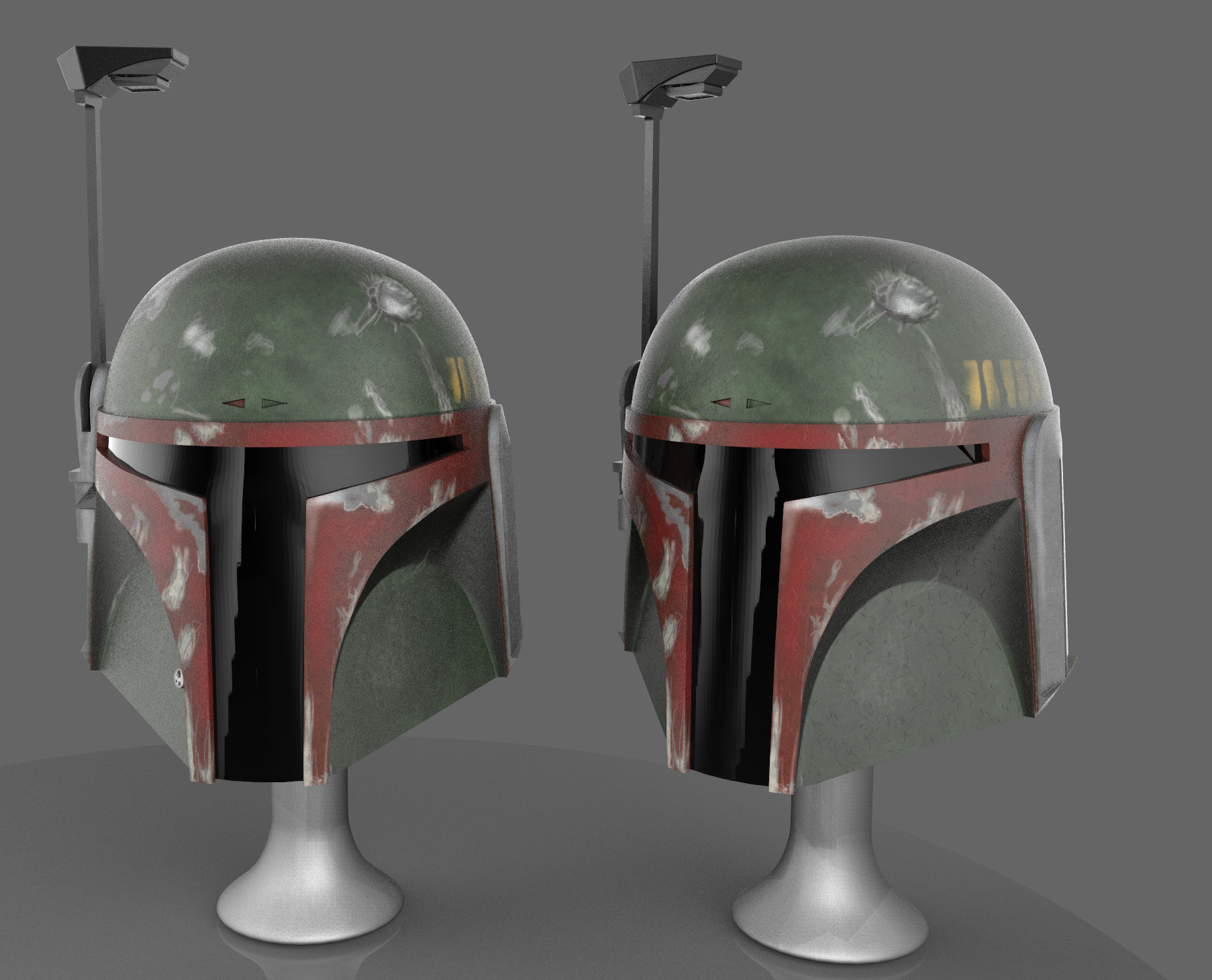 Boba Fett Helmet WIP by FoxHound1984