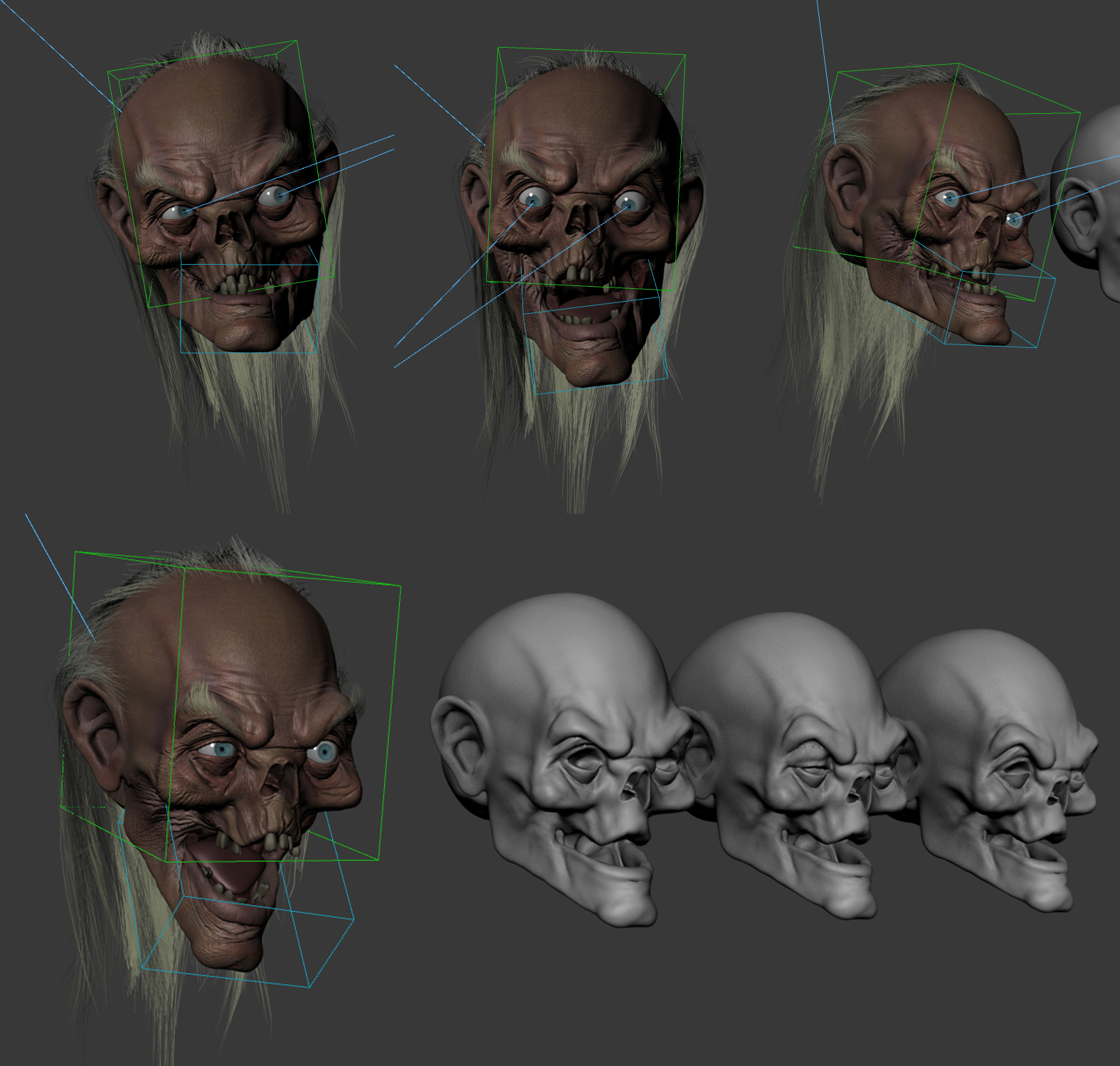 Crypt Keeper Rig Progress by FoxHound1984