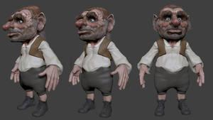 Hoggle (Labyrinth) 3D WIP