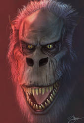 Creepshow Fluffy 3D Model