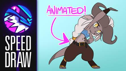 Speed Draw | Ahriannah Animation | FearDaKez