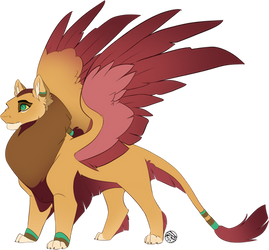 Commission | Malishan the Sphinx | FDK by FearDaKez