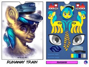 BLUEPRINT BADGE | Runaway Train | FDK