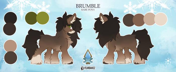 ADOPTABLE | Brumble | FEARDAKEZ