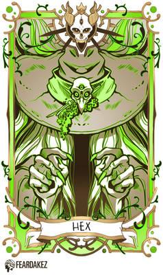 HALLOWEEN  HEX Card  FEARDAKEZ