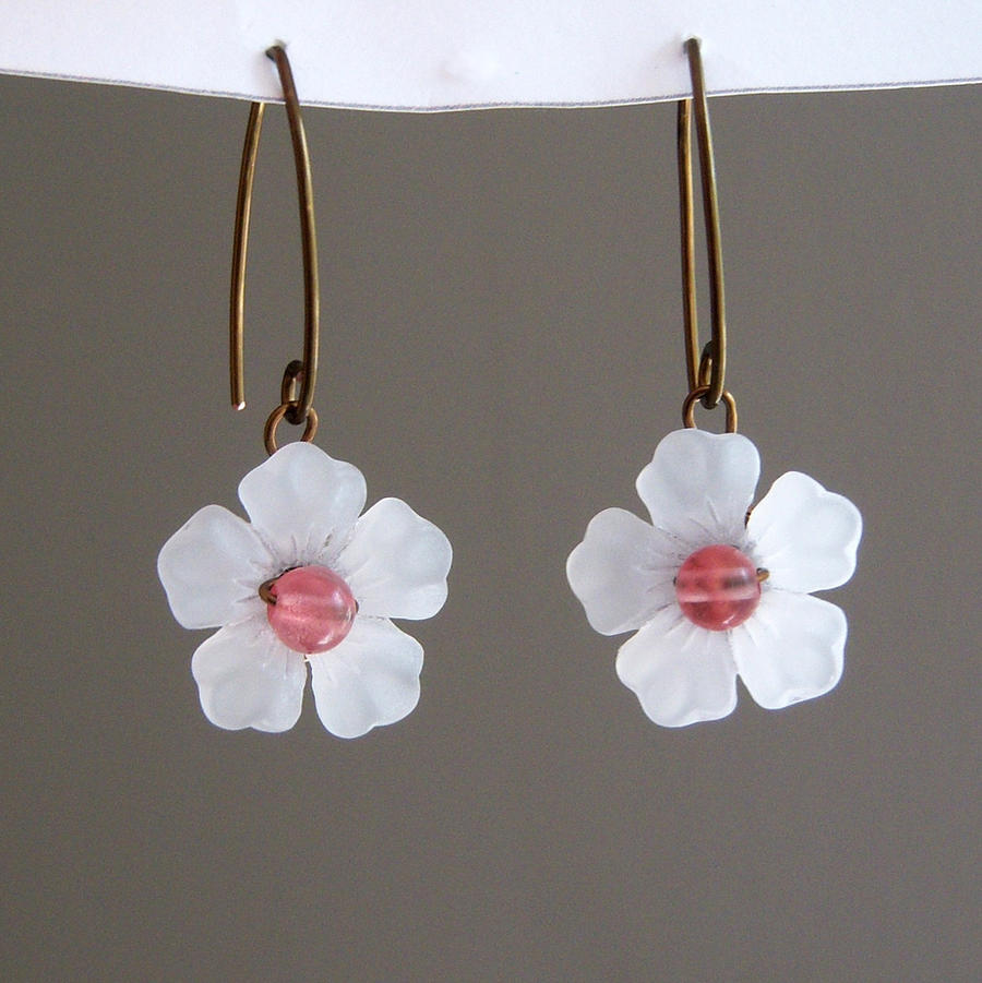 Cherry Blossom Earrings 2 by lulabug