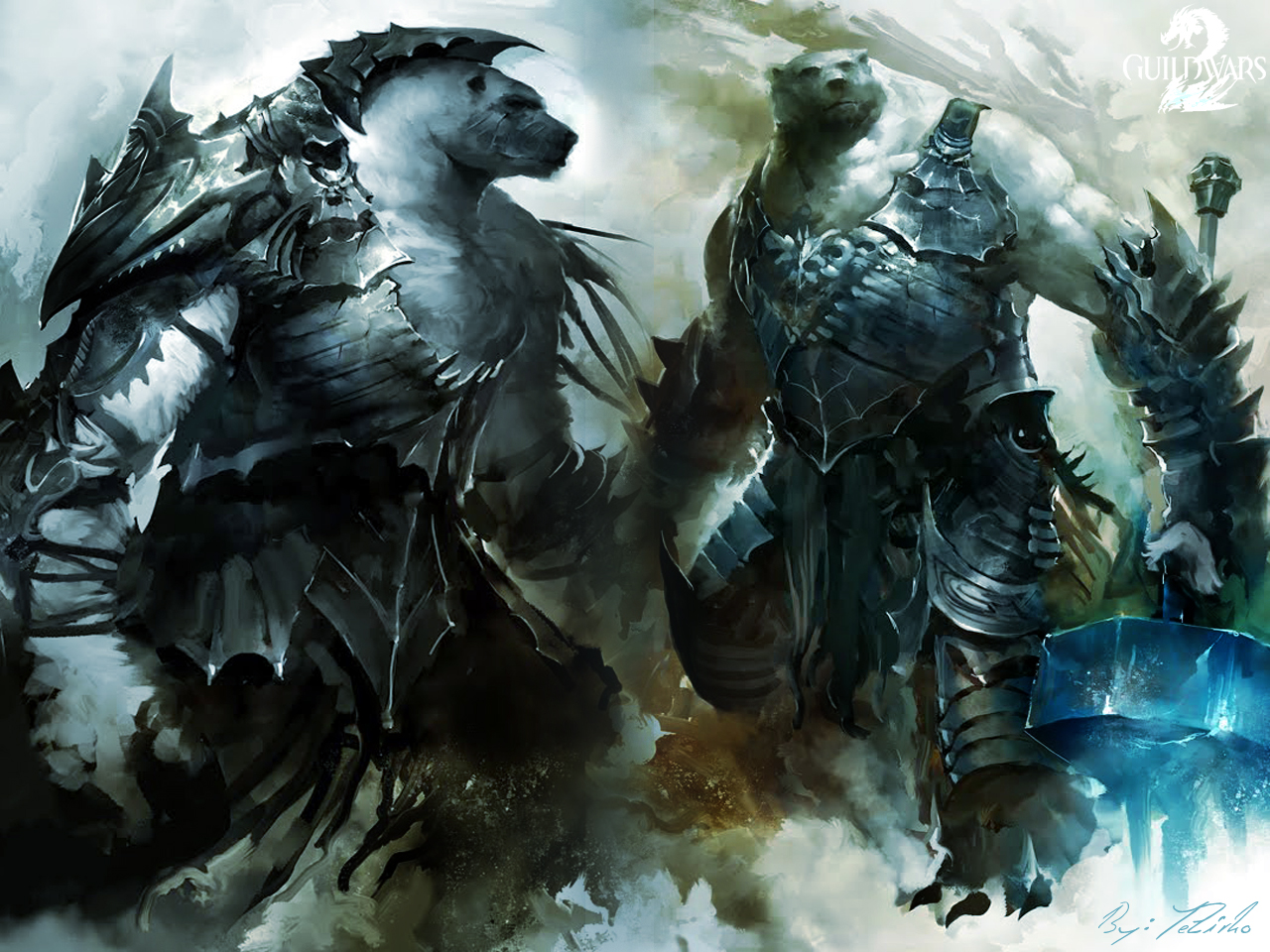 Guild wars 2 Kodan by AngelicBond
