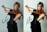 Before and After Violin V