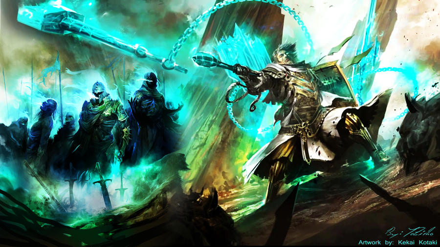 GW2 Wallpaper Ghostly By AngelicBond