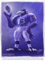 Baltimore Ravens Mascot Revisited