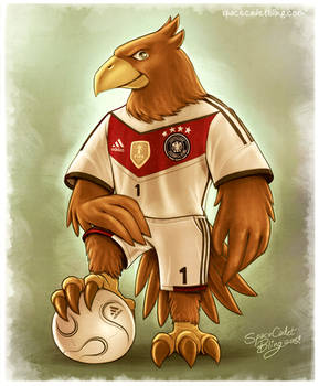 Paule, Germany's Football Eagle Mascot